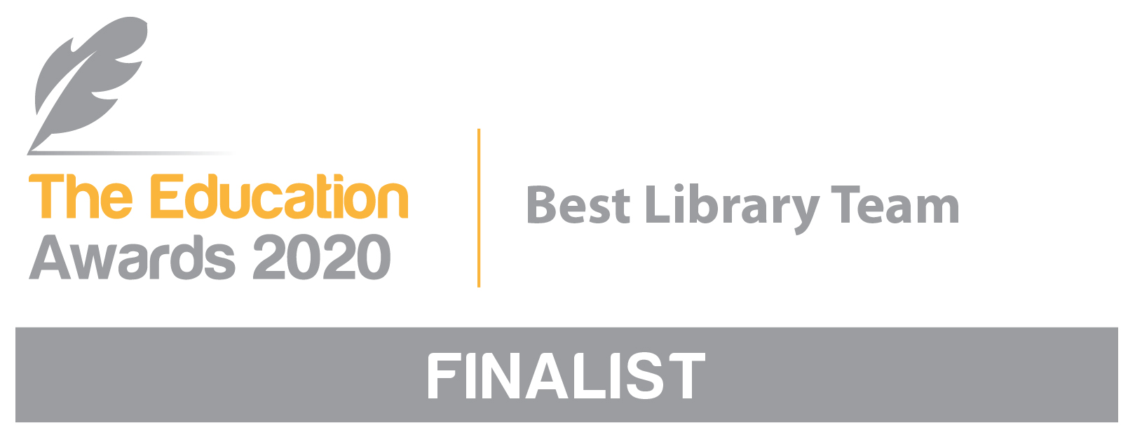 Education Awards 2020 Best Library Team Finalist